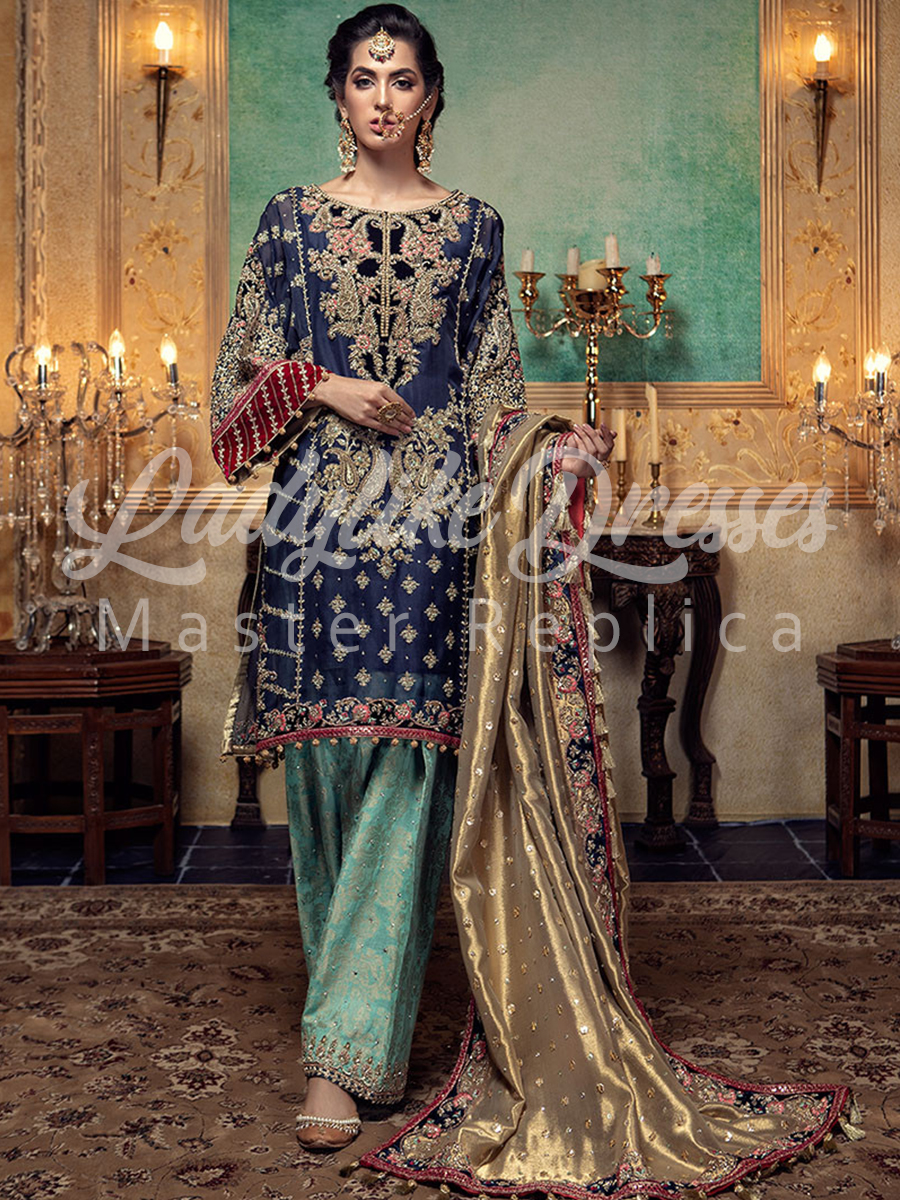 Maria B Phulkari Bridal Collection